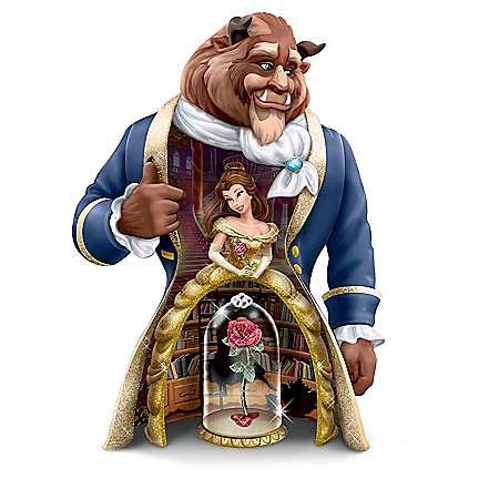 Disney's Beauty And The Beast 3-In-1 25th Anniversary Figurine Set 907143001