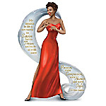 Dr. Maya Angelou-Inspired Thrive With Passion And Style Porcelain-Like Finish Figurine