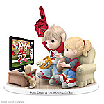 Precious Moments Every Day Is A Touchdown With You Cardinals Figurine