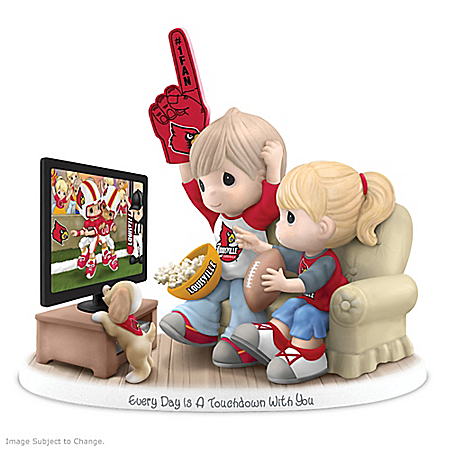 Precious Moments Every Day Is A Touchdown With You Cardinals Figurine 907256001