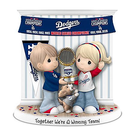 Dodgers 2020 World Series Precious Moments Figurine
