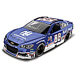 Dale Earnhardt Jr. No. 88 2017 NASCAR Nationwide Throwback Chevrolet SS 1 - 24 Scale Diecast Car