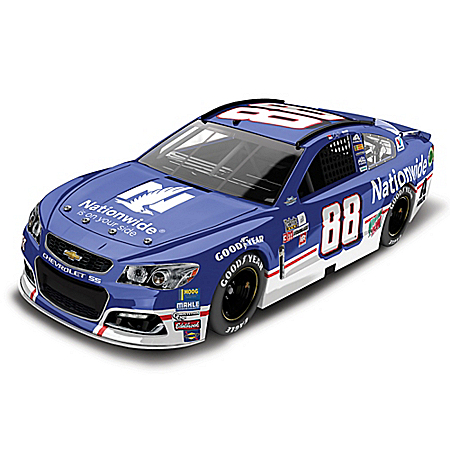 Dale Earnhardt Jr. No. 88 2017 NASCAR Nationwide Throwback Chevrolet SS 1:24 Scale Diecast Car