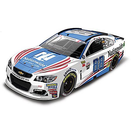 Dale Earnhardt Jr. No. 88 Nationwide Patriotic 2017 NASCAR 1:24-Scale Diecast Car