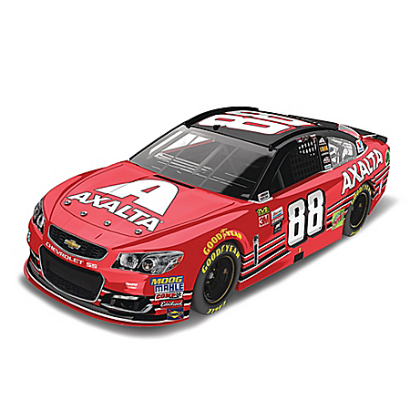 Dale Earnhardt Jr. 2017 #88 Axalta Chevy SS 1:24-Scale NASCAR Diecast Car