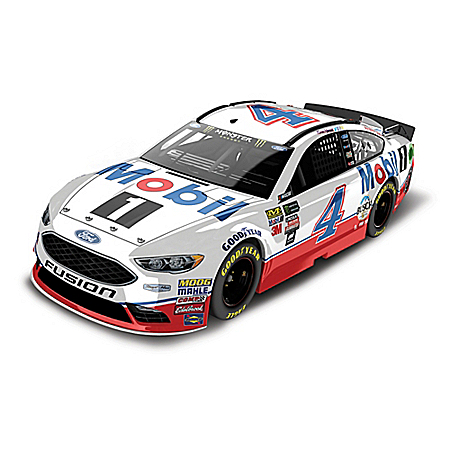 1:24-Scale Kevin Harvick No. 4 Mobil 1 2017 NASCAR Diecast Car