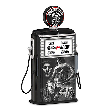 Sons Of Anarchy Fueled By The Reaper Collectible Gas Pump Sculpture