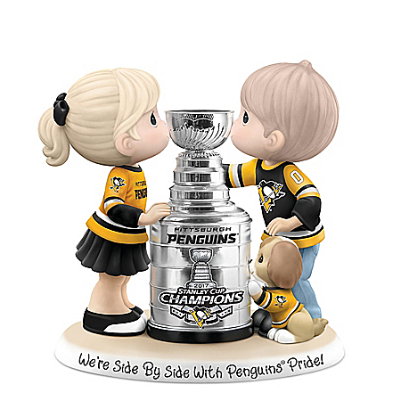 Precious Moments We're Side By Side With Penguins® Pride Figurine 907296001