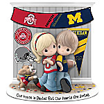 Our House Is Divided But Our Hearts Are United Ohio State Vs. Michigan Precious Moments Figurine