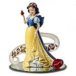 Disney's Snow White - Fairest Of Them All Figurine Enhanced With Swarovski Crystals