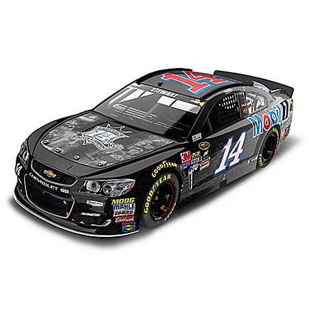 Tony Stewart No. 14 Last Ride/Mobil 1 2016 NASCAR Sprint Cup Series Diecast Chevrolet SS Car