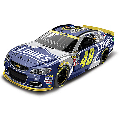 Jimmie Johnson No. 48 Lowe's 2016 NASCAR Sprint Cup Series Championship Diecast Car