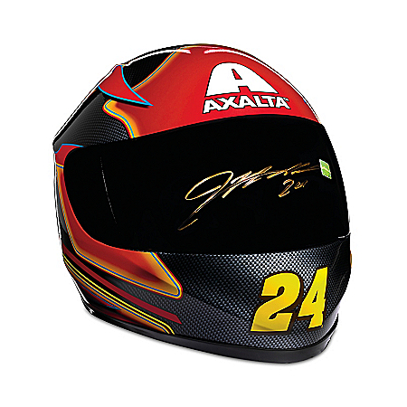 Jeff Gordon Autographed Axalta Full-Sized NASCAR Racing Helmet