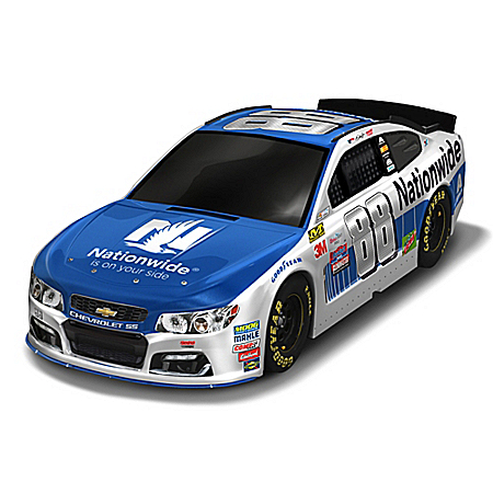 NASCAR Dale Earnhardt Jr. 2017 #88 Nationwide Chevy SS 1:18-Scale Race Car Sculpture