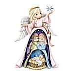 Precious Moments Holy Family Handcrafted Nativity Nesting Figurine Set