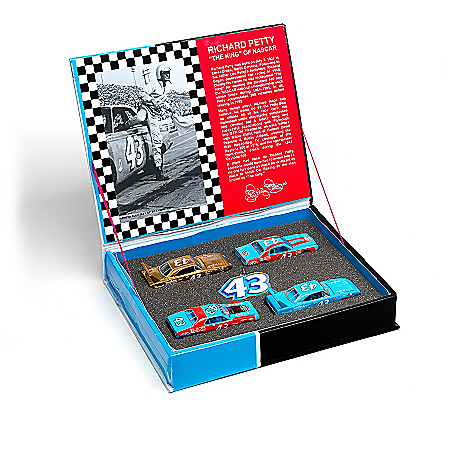 Richard Petty Collectible Diecast Car Set