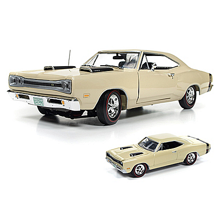 1969 Dodge Coronet Super Bee Scat Pack 1:18 Scale Diecast Car