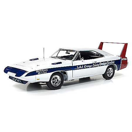 1:18-Scale Lucinda Cindy Lewis 1969 Dodge Daytona LA Diecast Car