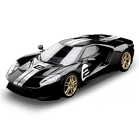 1:18-Scale 2017 Heritage Edition Ford GT AuthentiCast Resin Sculpture