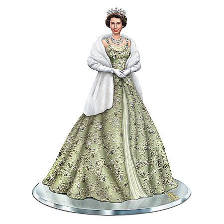 Reflections Of Queen Elizabeth II Handcrafted Figurine