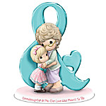 Precious Moments Granddaughter & Me Our Love Was Meant To Be Figurine