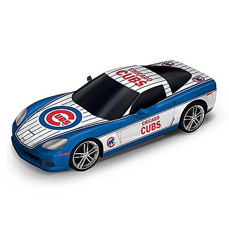 Chicago Cubs Home Run 1:43-Scale MLB Chevy Corvette Cruiser Sculpture