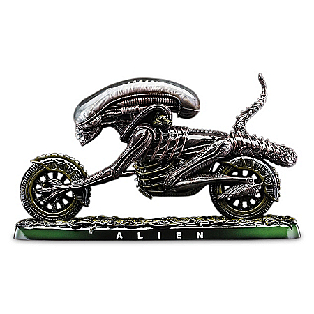 Alien Scream Fantasy Chopper Handcrafted Sculpture