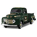 Class A Cruiser ARMY 1 - 36-Scale Ford Truck Sculpture