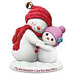 Precious Moments My Granddaughter, I Love You Snow Much Figurine