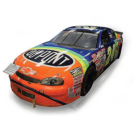 Jeff Gordon No. 24 DuPont Refinishes 1997 DAYTONA 500 NASCAR Race Win 1:24-Scale Diecast Car
