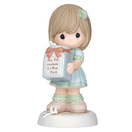 Precious Moments All The Reasons I Love Mom Bisque Porcelain Figurine