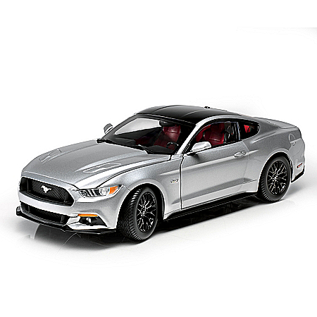1:18-Scale 2017 Ford Mustang GT Precision-Engineered Diecast Car