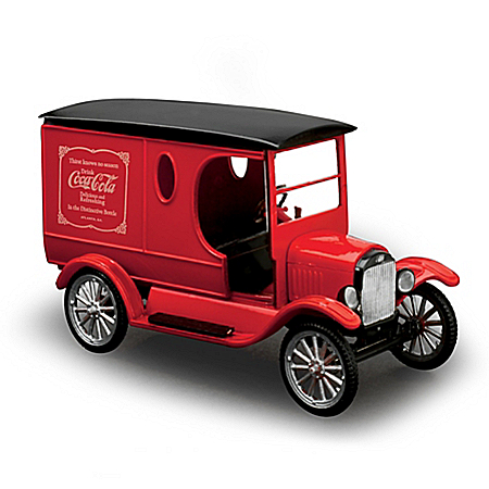1:25-Scale COCA-COLA 1923 Model T Collectible Model Car Kit With Display Stand