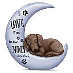 Blake Jensen I Love You To The Moon And Back Dachshund Figurine