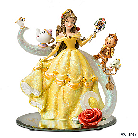 Disney's Beauty And The Beast Belle – A Tale Of Enchantment Figurine