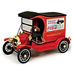 1 - 18-Scale COCA-COLA 1917 Ford Model T Cargo Van Diecast Car