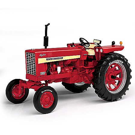 1:16-Scale Farmall International 544 Hydro Drive Gas Wide Front With Firestone Tires Diecast Tractor