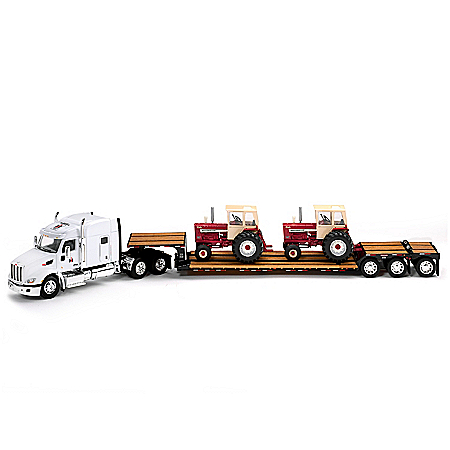 The 50th Anniversary Of International Harvester 1:64-Scale Diecast Tractor Set