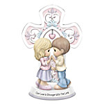 Precious Moments Our Love Is Stronger With The Lord Religious Figurine