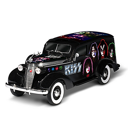 KISS Forever 1:18-Scale Studebaker Hearse Sculpture