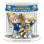 Precious Moments Together We're A Winning Team Golden State Warriors 2017 NBA Finals Championship Commemorative Figurine