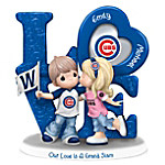 Precious Moments Our Love Is A Grand Slam Chicago Cubs Personalized Figurine
