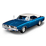 American Muscle 1 - 18-Scale 1969 Dodge Charger White Hat Special Diecast Car
