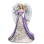 Thomas Kinkade God Helps You Handle What You Are Given Hand-Painted Angel Figurine