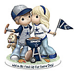 Precious Moments NFL Dallas Cowboys We're All Fired Up For Game Day Figurine