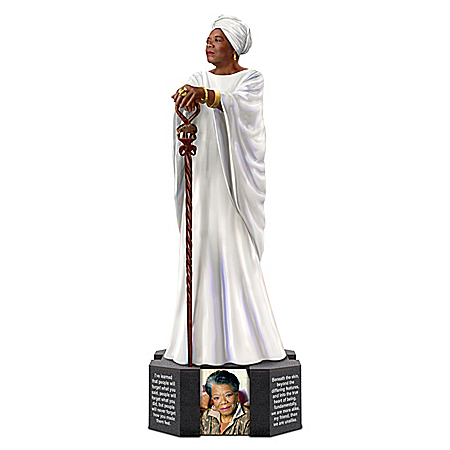 Dr. Maya Angelou Limited-Edition Handcrafted Tribute Sculpture