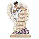 Dr. Maya Angelou In Loving Memory Angel Sculpture