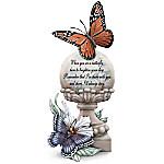Lena Liu Always Near And Very Dear Hand-Painted Butterfly Figurine