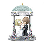 Precious Moments You Are The Light Of My Life Personalized Figurine