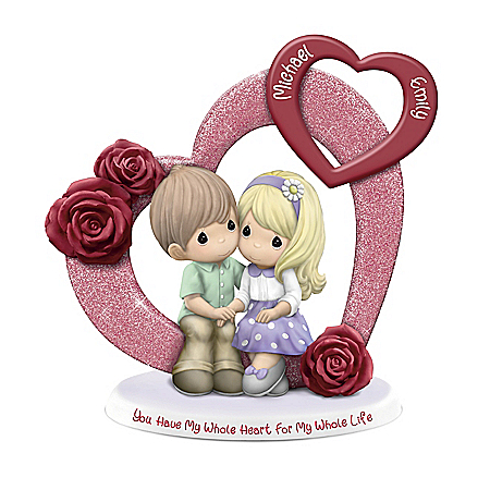 Precious Moments Couples Figurine With Your 2 Names